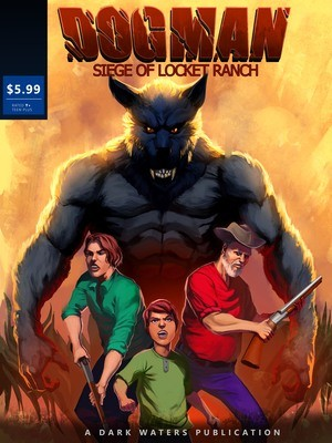 Standard Edition Siege Of Locket Ranch Comic book