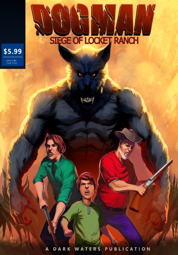 Limited Edition Siege of Lockett Ranch Comic Book Signed By Dark Waters PREORDER 00002