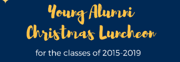 Young Alumni Christmas Luncheon