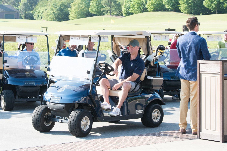 Golf Cart Windshield Sponsor