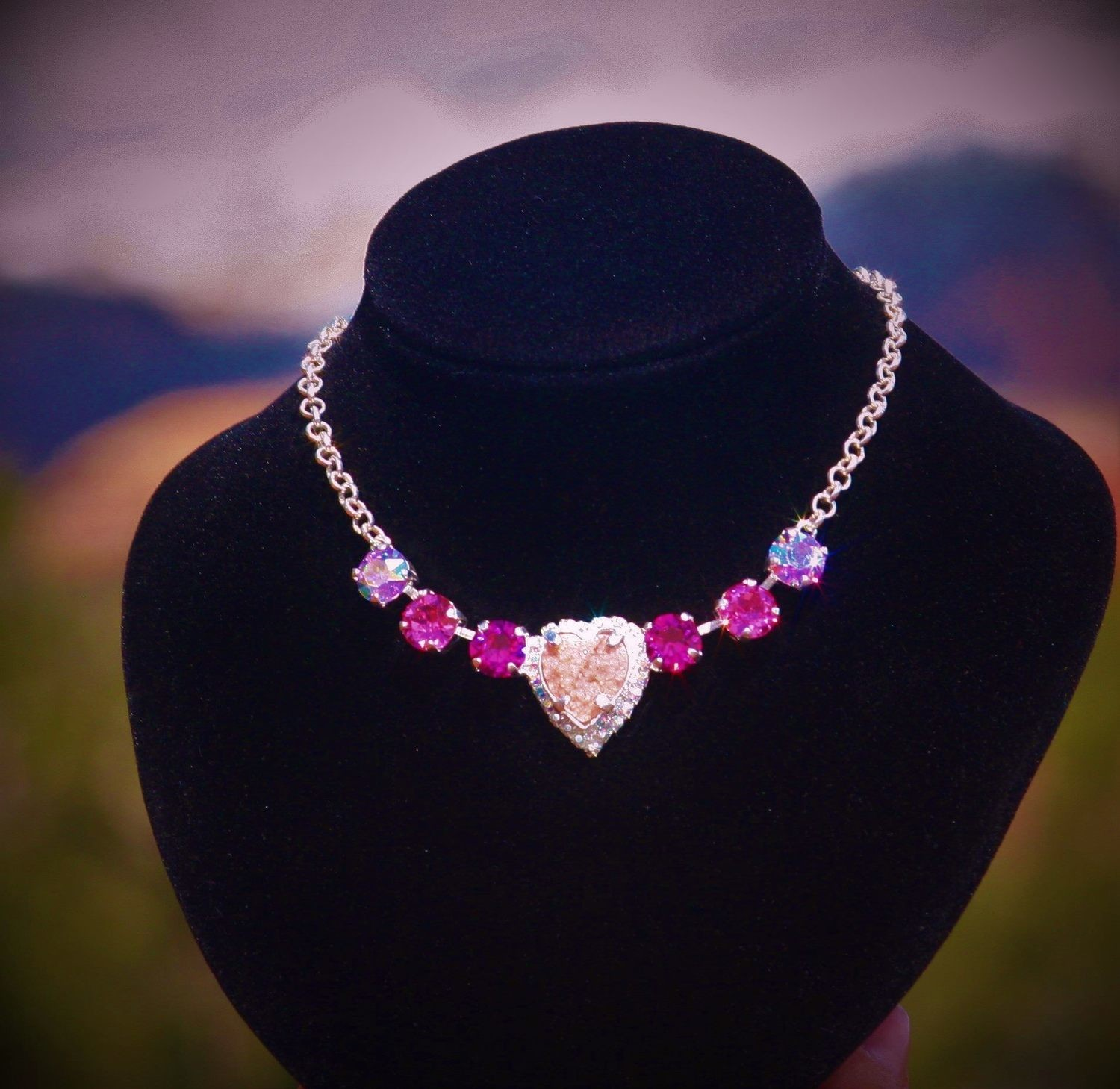 Sedona Hearts of Mother Earth Gaia/ Sophia Pink Ray Healer Priestess Divine LOVE $244.00/444.000 {Light Workers sale}