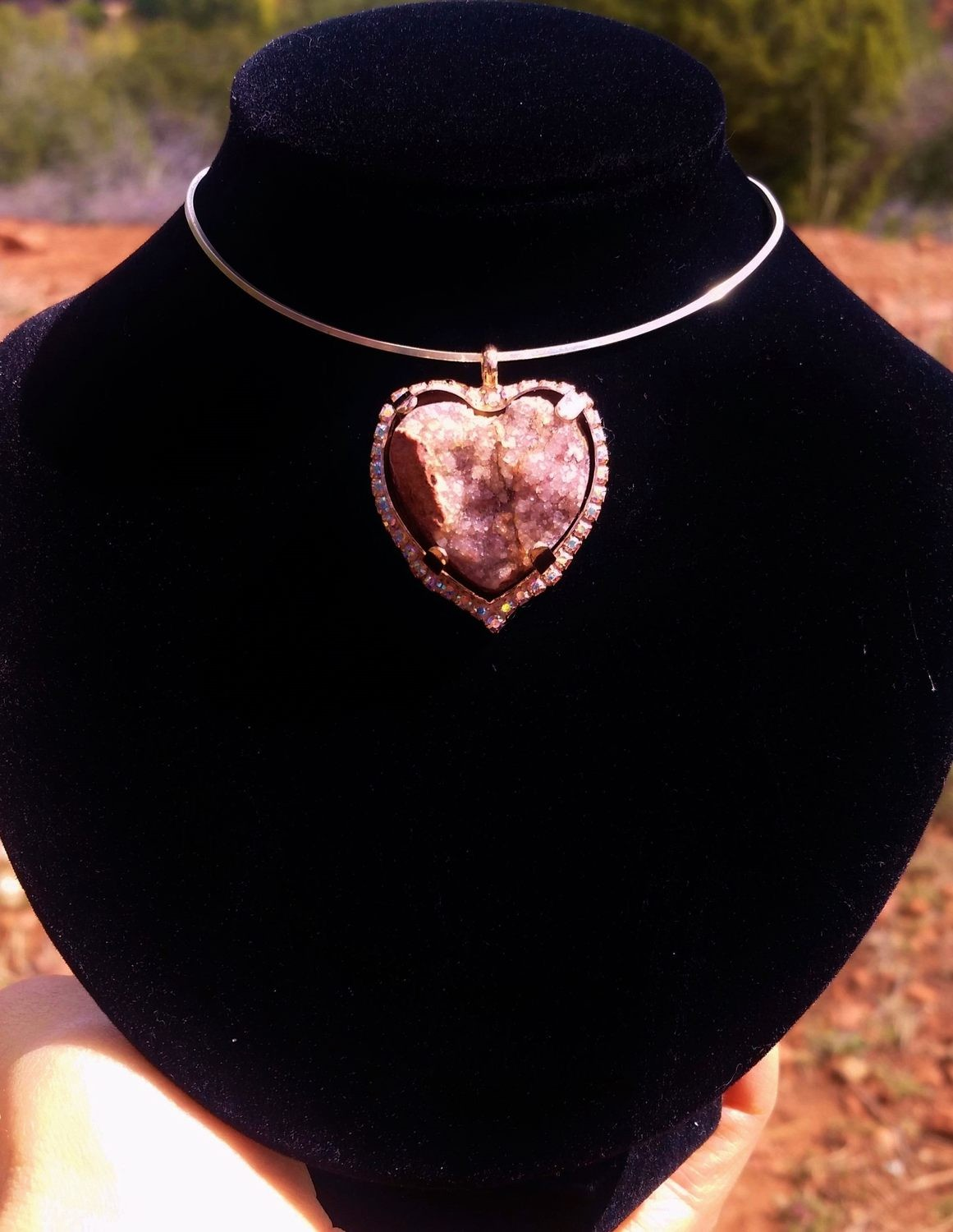 Available:  Hearts of Mother Earth Gaia ~ from the Crystal City of Lights in Love ~ Lightworkers Heart sale $333.00/$555.00