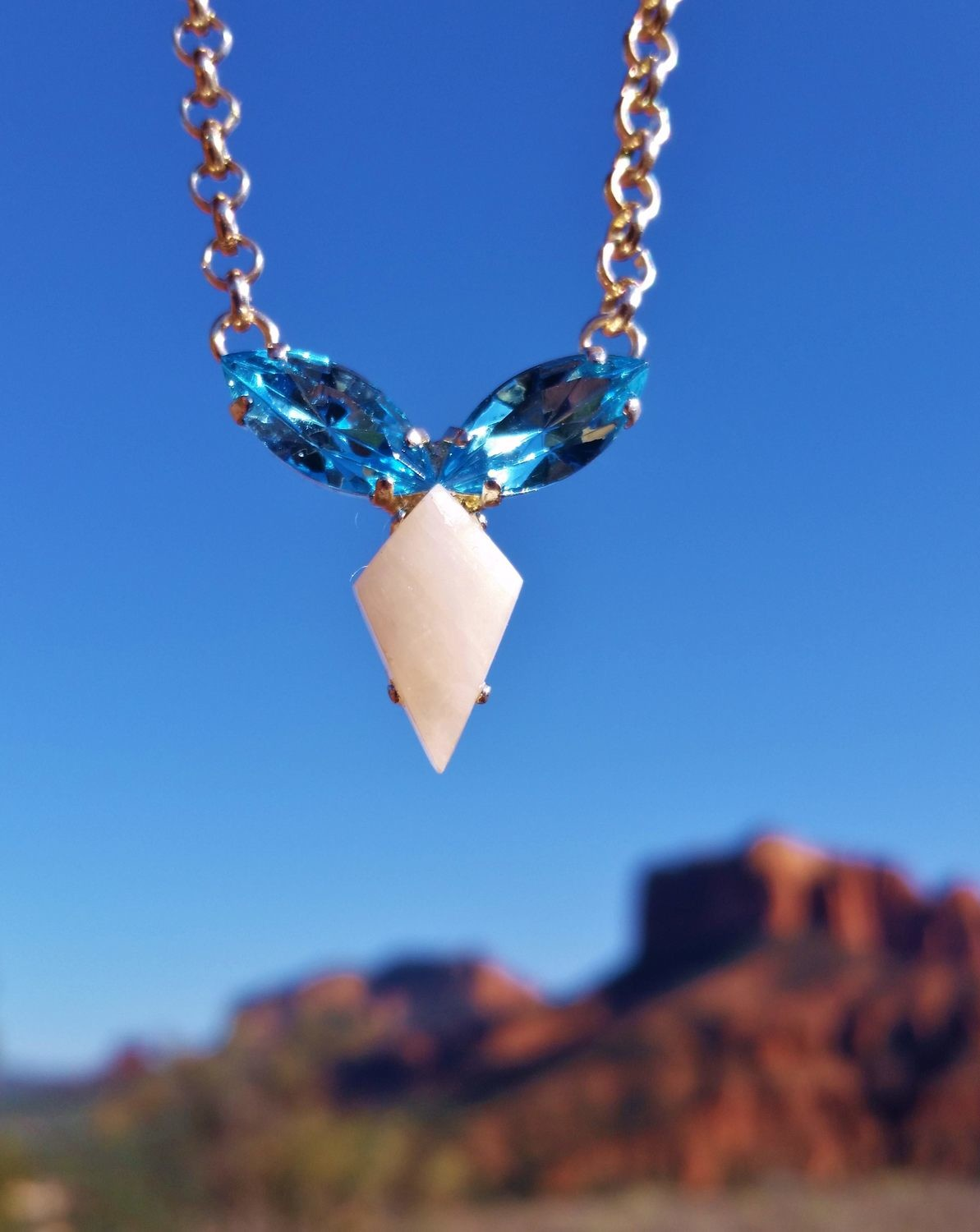 Available: Priestess Portal of the Vortex  Sedona White light Crystal/Blue Ray Sale $288.00/333.00