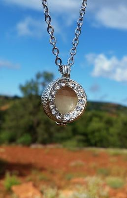 Moonstone White light Sedona Portal of the Vortex Crystal