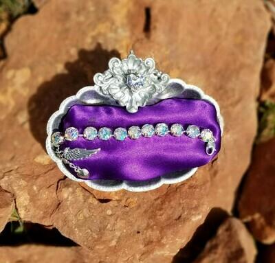 Devic Crystal LOVE Technology Bracelets/Angel Mermaid $88.00/$144.00  Mer Angel Retreat Sale