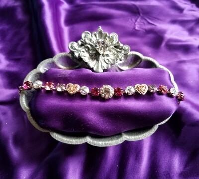 Devic Crystal LOVE Technology Bracelets/ Rose Love Fairy $88.00/ $133.00 retreat sale