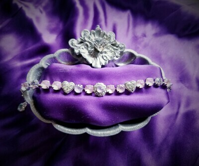 Devic Crystal LOVE Technology Bracelets/Quan Yin Devic Angels of the Lavender Flame  $88.00/ $133.00 retreat sale