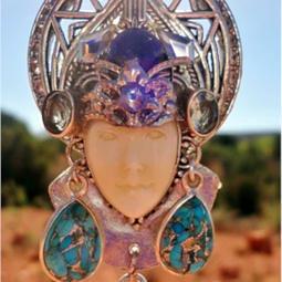 Sale$522/$777.00 SHANAHE language of light White Buffalo Women Peace