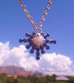Sale $199/244.00Sedona Moonstone Higher Self White light Heart - Blue Ray