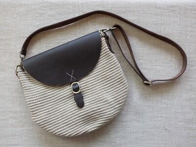 Cross Bag Large Off White