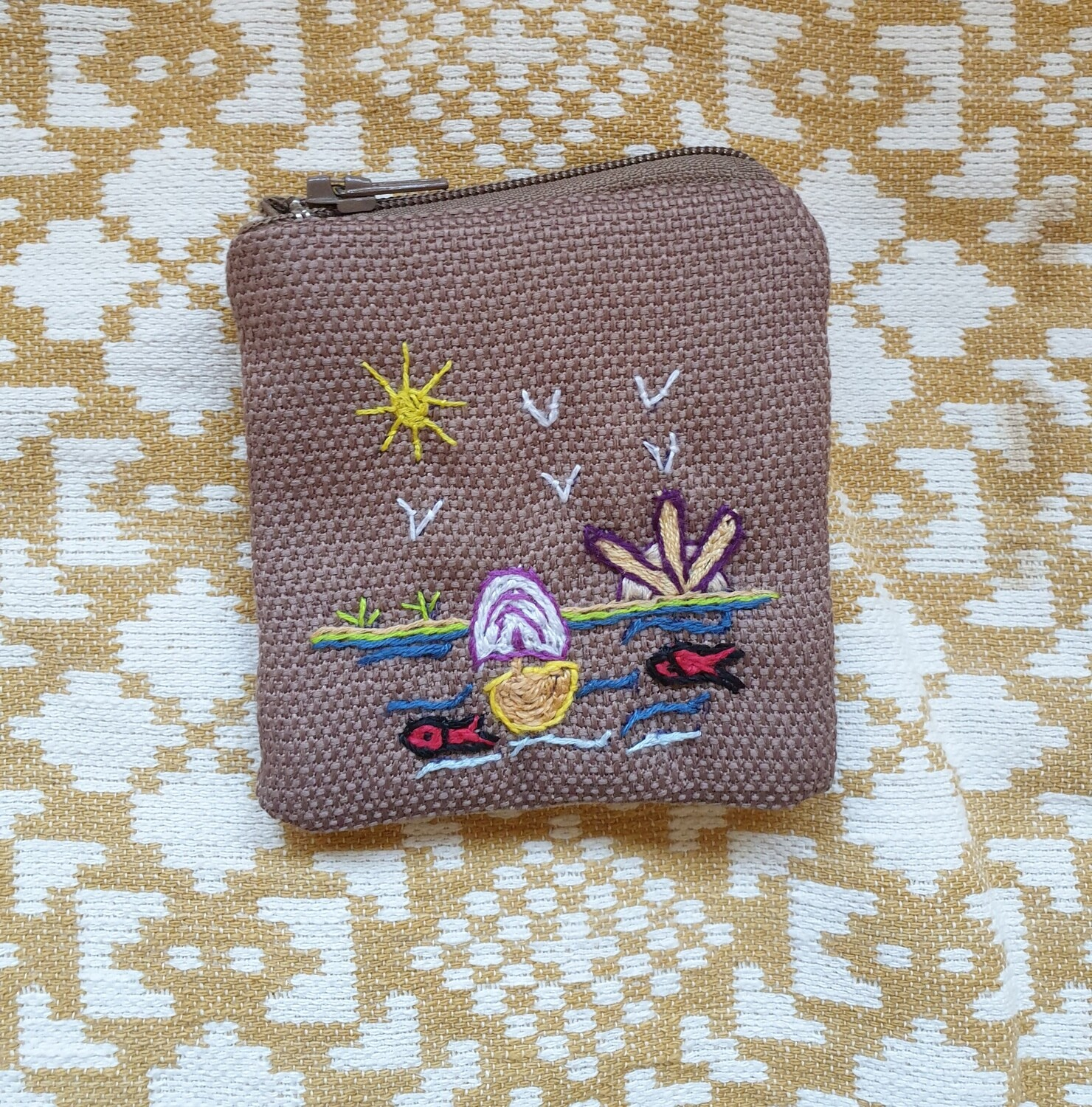 Coins Pouch Light Brown