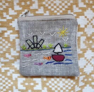 Coins Pouch Grey