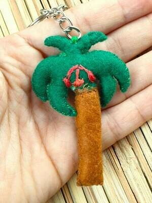 Palm Keychain Green