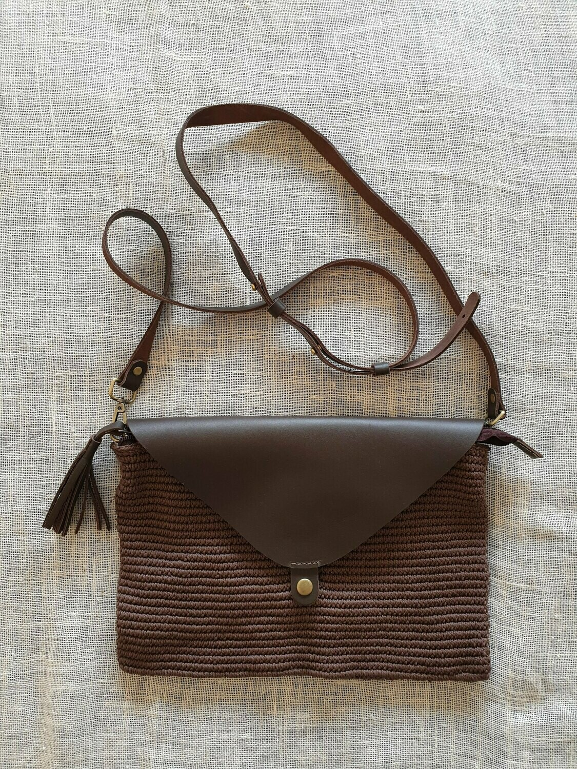 Clutch: Chocolate Brown
