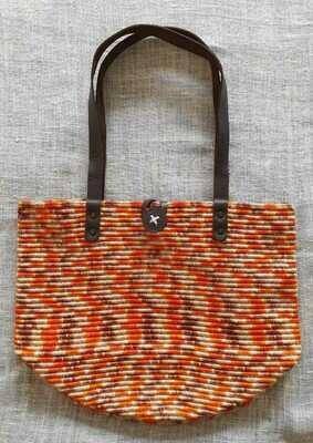 Orange Mix Shoulder Bag