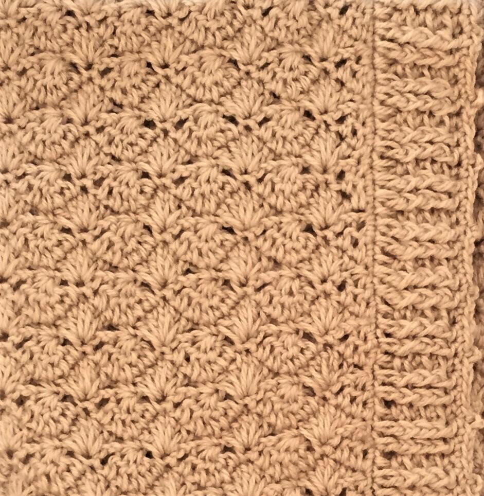 Mini Blanket: Beige Acrylic