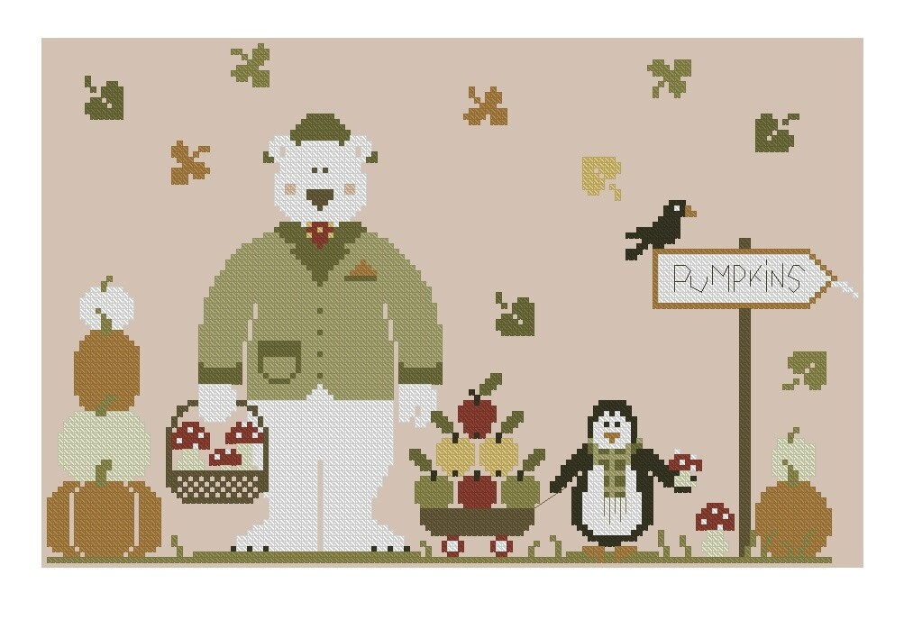Autumn Is Coming Cross Stitch Pattern PDF + XSD. Instant Download. - CUSTOM ORDER! Only 1 available!