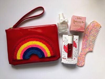 Play Makeup Gift Bag - Red Rainbow