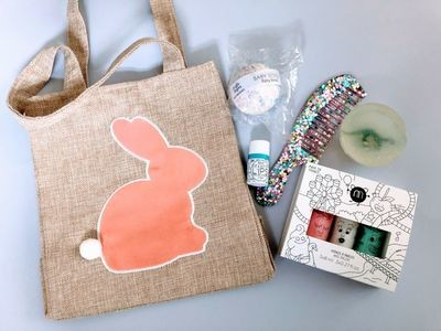 Play Makeup Gift Bag - Pom Pom Bunny