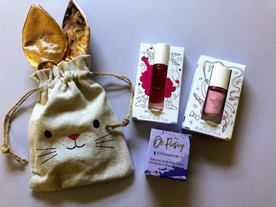 Play Makeup Gift Bag - Bunny Gold Ears 3