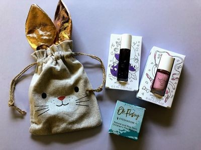 Play Makeup Gift Bag - Bunny Gold Ears 4