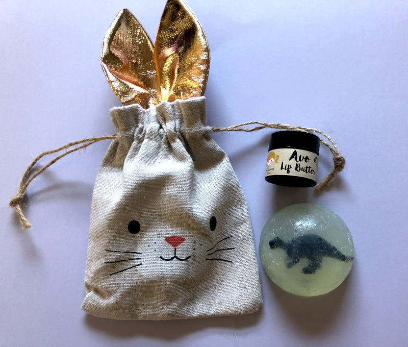 Play Makeup Gift Bag - Bunny Gold Ears 5