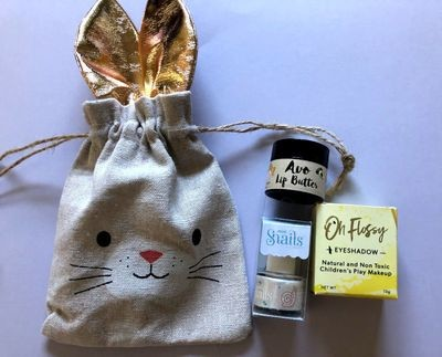 Play Makeup Gift Bag - Bunny Gold Ears 6