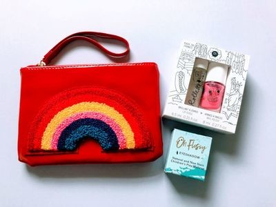 Play Makeup Gift Bag - Red Rainbow 3