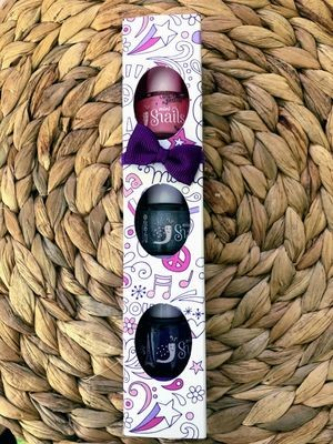 Snails Safe 'N' Beautiful Jazz 3 Pack Mini Nail Polish