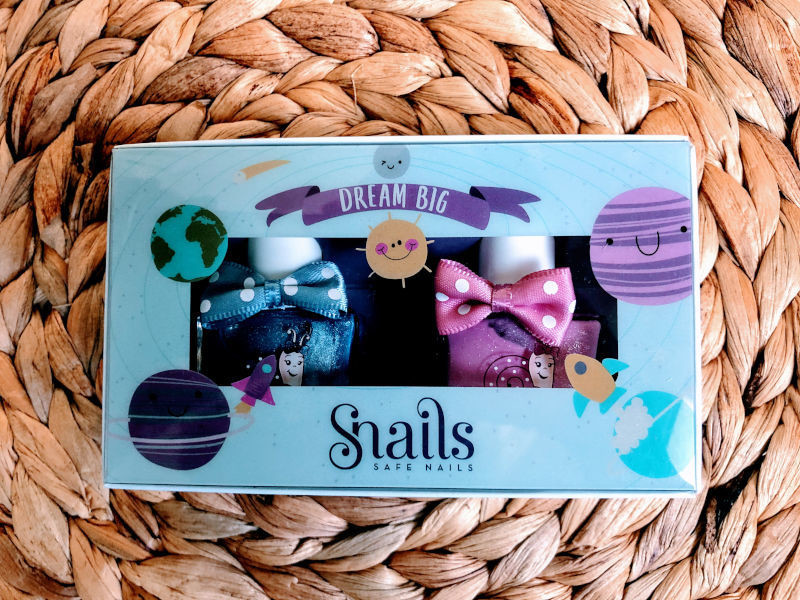Snails Safe 'N' Beautiful Dream Big 2 Pack Nail Polish