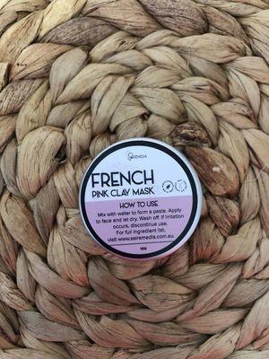 Sal Remedia French Pink Clay Mask - mini