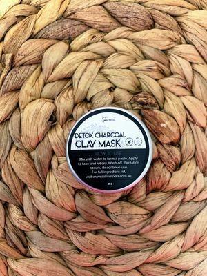 Sal Remedia Detox Charcoal Clay Mask - mini