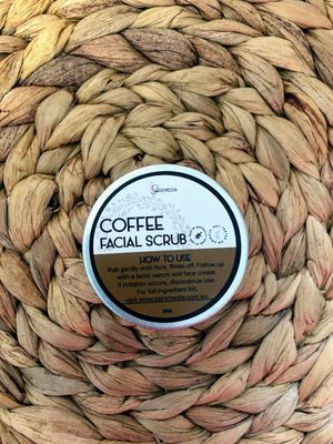 Sal Remedia Coffee Facial Scrub - mini