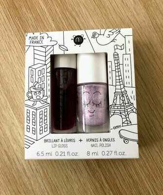 Nailmatic kids lip gloss and nail polish - Lovely City