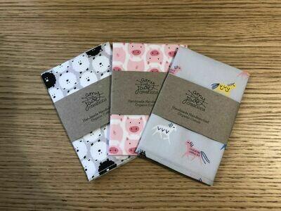 Kids Handmade Organic Cotton Handkerchief