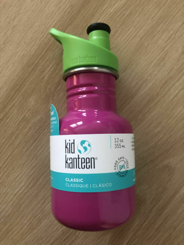 Klean Kanteen Kids Sports Cap Bottle 355ml