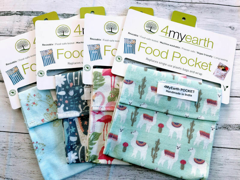 4myearth Vegan Friendly Food Pocket