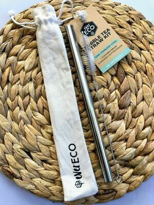 Ever Eco Bubble Tea Stainless Steel Straw Kit