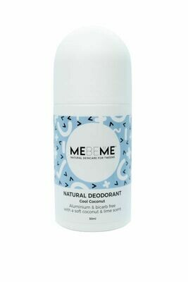 MEBEME Natural Deodorant Cool Coconut 50ml