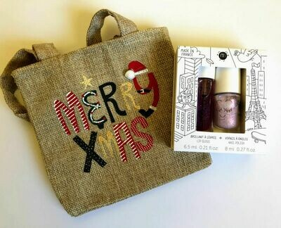 Merry Christmas Play Makeup Gift Bag - Lovely City