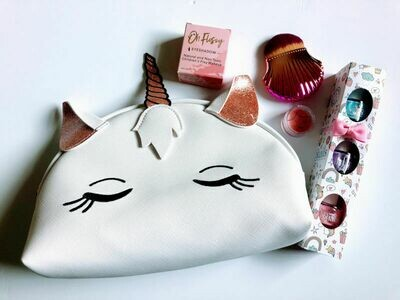Play Makeup Gift Bag - White Unicorn
