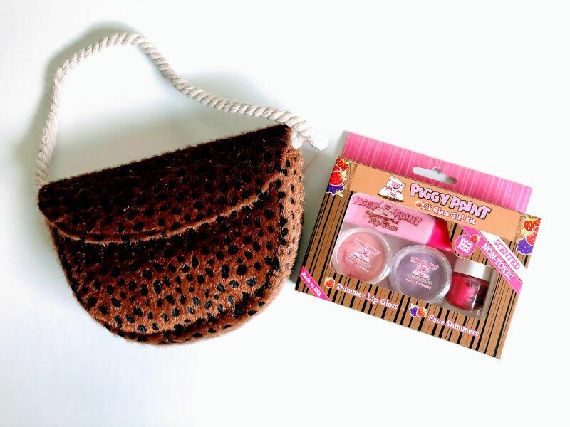 Play Makeup Gift Bag - Brown Cheetah