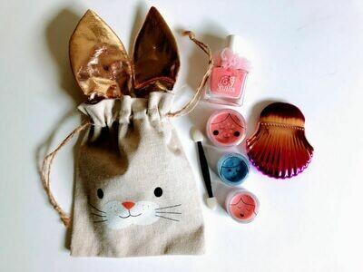 Play Makeup Gift Bag - Bunny Gold Ears 2
