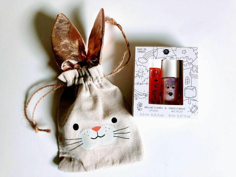 Play Makeup Gift Bag - Bunny Gold Ears 4