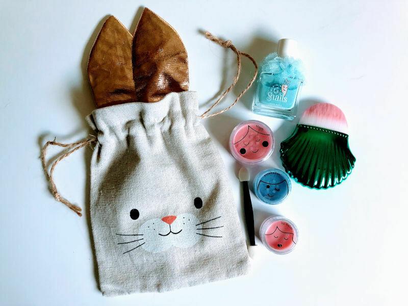 Play Makeup Gift Bag - Bunny Gold Ears 1