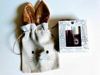 Play Makeup Gift Bag - Bunny Gold Ears 3