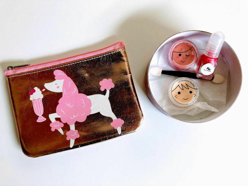 Play Makeup Gift Bag - Gold Poodle 3