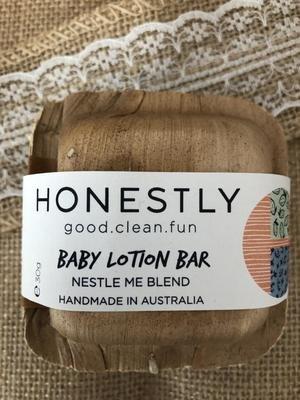 Honestly Baby Lotion Bar