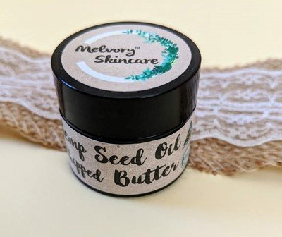 Melvory Skincare Hemp Seed Oil Whipped Butter Balm