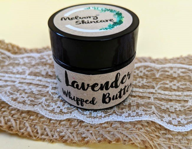 Melvory Skincare Lavender Chocolate Whipped Butter Balm